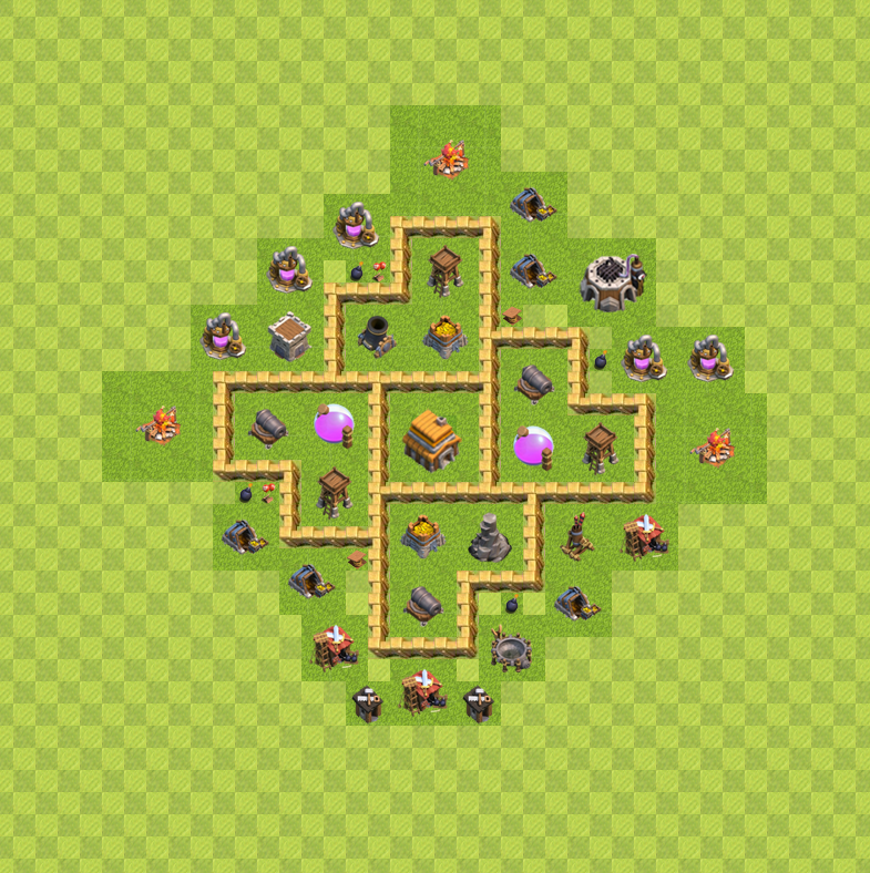 5 th5 clash of clans